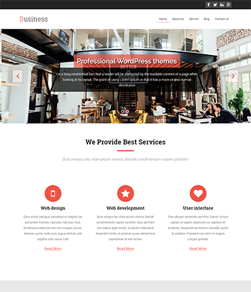 Premium WordPress themes for your website Business business   Premium Themes Wordpress Themes