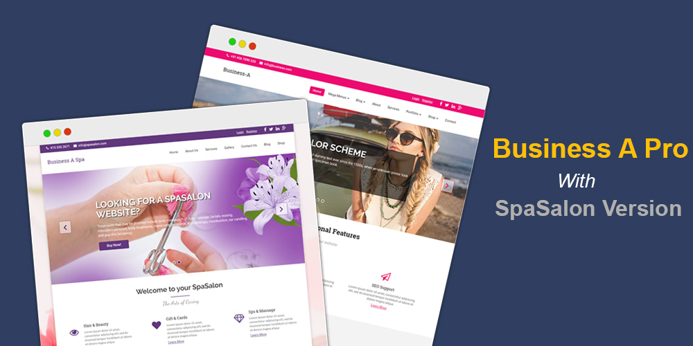 Premium WordPress themes for your website Checkout Spa Demo of Business A Premium Theme business a spa Uncategorized  Business Theme business  Premium Themes Wordpress Themes